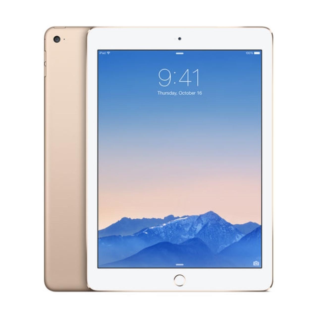 Cellular Apple iPad air 2-64GB Gold Fully Unlocked