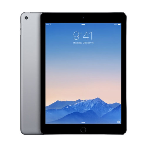 Apple iPad Air 2 Wi-Fi + Cellular (Unlocked) 64GB - Space Gray MH2M2LL/A - Excellent Condition