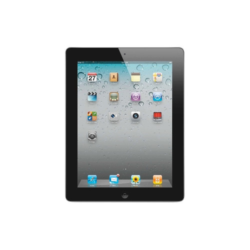 Vintage: Apple iPad 2 Wi-Fi 16GB - Black MC769LL/A - Very Good Condition