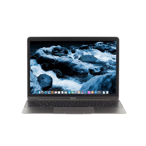 Apple MacBook 12-inch 1.3GHz Core M (Early 2015, Space Gray) MJY32LL/A - Very Good Condition