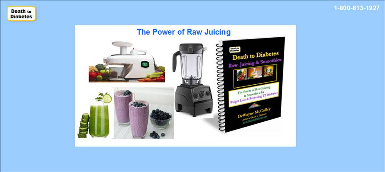 Power of Raw Juicing