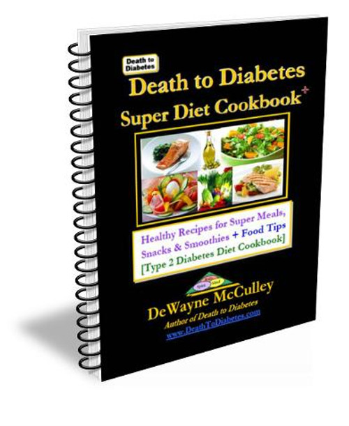 Diabetes Cookbook cover