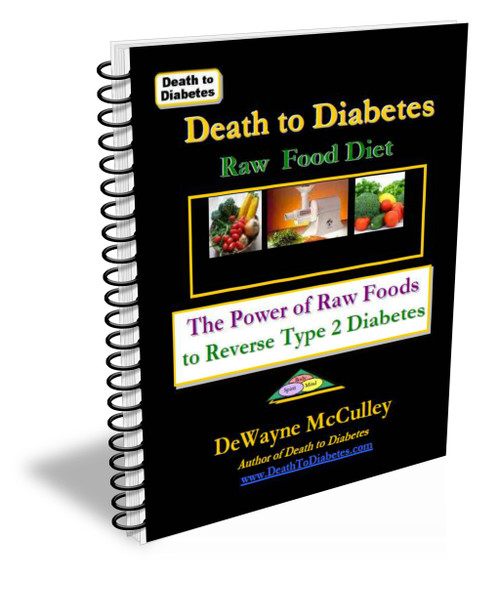Raw food diet book