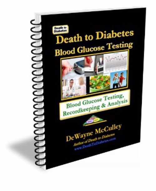 Blood Glucose Testing Book cover