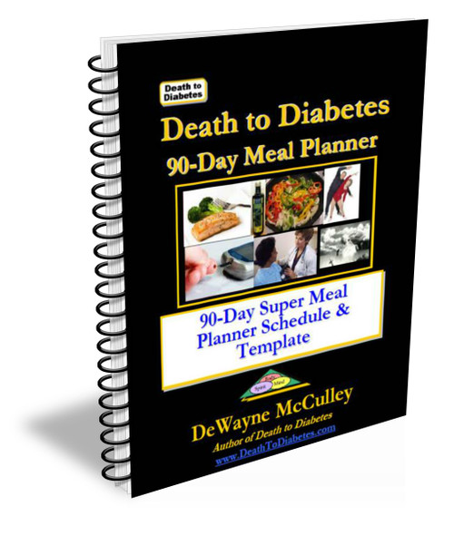 Diabetes Meal Planner Schedule book cover