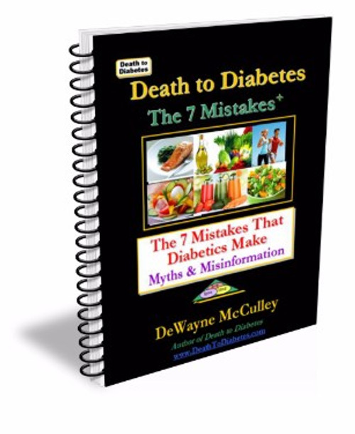 The 7 Mistakes that Diabetics Make book cover