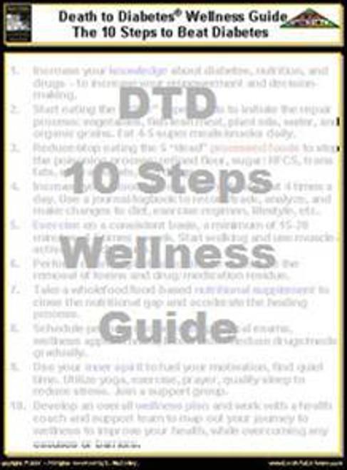 Diabetes Wellness 10 Steps Guide