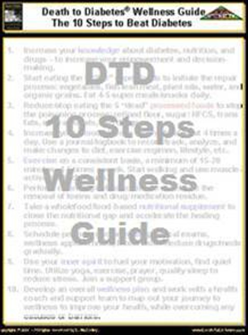 Diabetes Wellness 10 Steps Guide