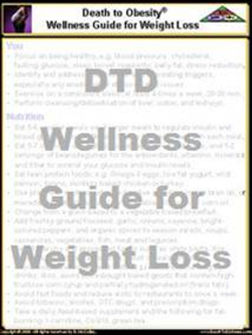 Wellness Guide for Weight Loss