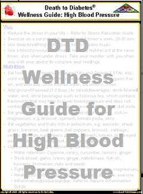 Wellness Guide for High Blood Pressure