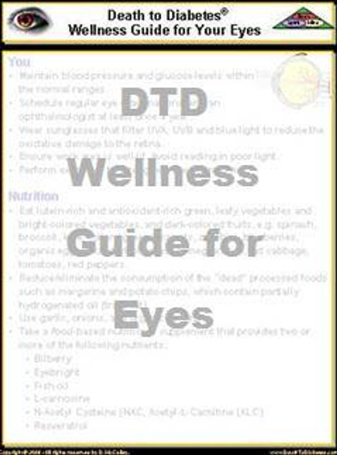 DTD Wellness Guide for Eyes
