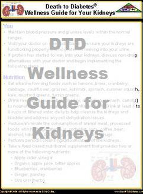 WG Wellness Guide for Kidneys