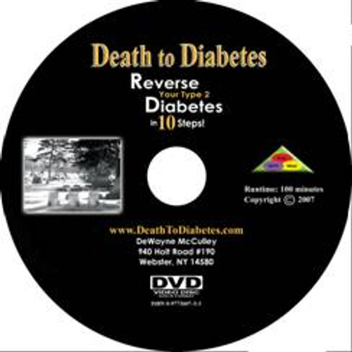 Reverse Diabetes DVD disc