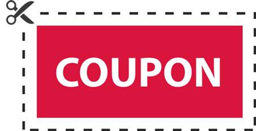 Coupons for Product Discounts, Upgrades & Gifts