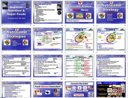 PowerPoint Slides from Diabetes Training Program