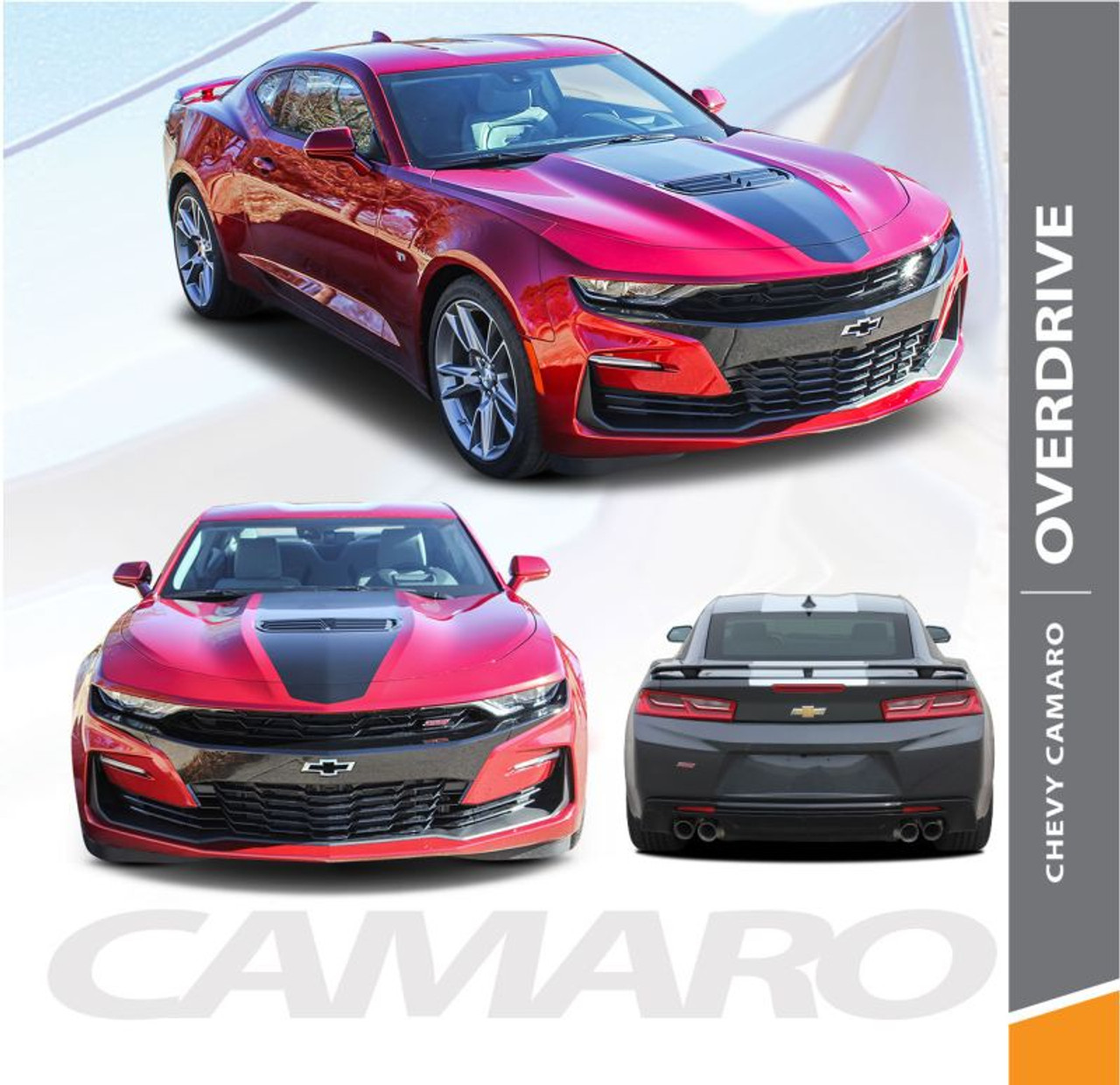 Overdrive 2019 Camaro Stripes Camaro Decals Camaro Vinyl Graphics