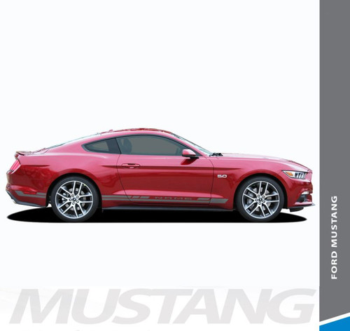 Ford Mustang HASTE Lower Rocker Panel Door Body Stripes Vinyl Graphic Decals 2015 2016 2017