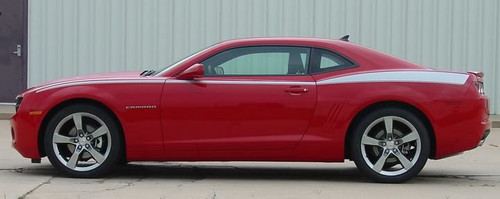 side view Chevy Camaro Upper Body Line Graphics LEGACY 3M  2009-2015