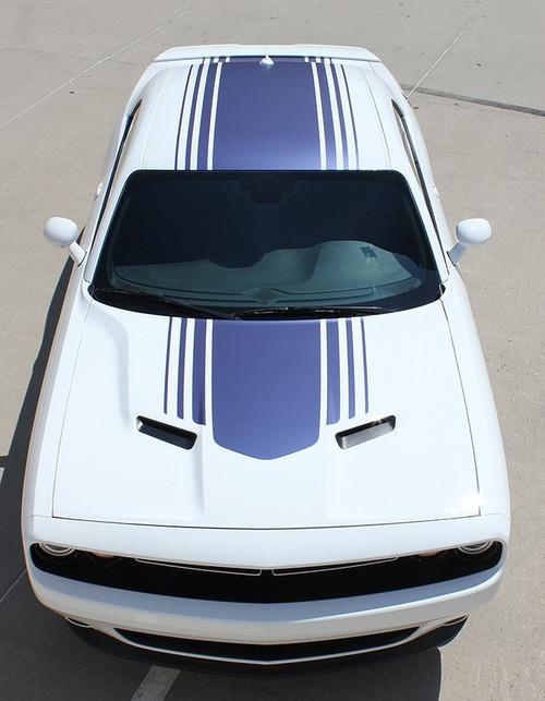 2017 Dodge Challenger Shaker Stripes SHAKER 2015-2020 2021