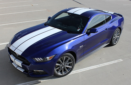 2016 Ford Mustang Dual Racing Stripes STALLION 2015-2017