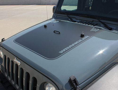 2016 Jeep Wrangler Hood Decals OUTFITTER 2008-2015 2016 2017