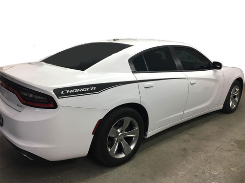 2015-2020 2021 Dodge Charger Quarter Panel Decals 15 RECHARGE