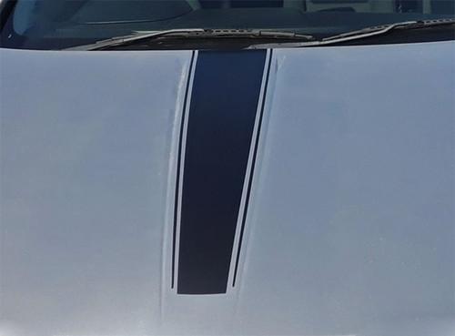 Hood view Classic! RT, SE or SXT Dodge Avenger Stripes AVENGED 2008-2014