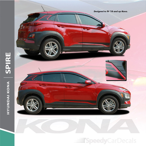 Hyundai Kona Stripes SPIRE KIT 2020-2021