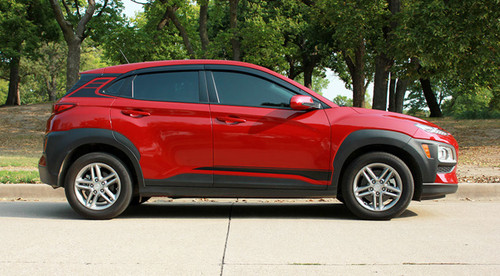 Profile of  Hyundai Kona Stripes SPIRE KIT 2020-2021