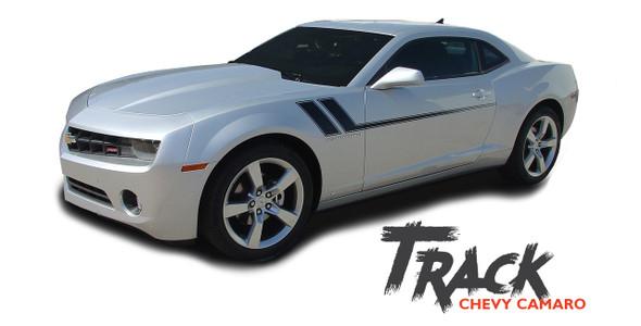 Chevy Camaro TRACK Side Door Hockey Body Decal Vinyl Graphics Stripe Decals Kit fits 2010 2011 2012 2013 2014 2015