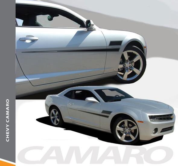Chevy Camaro SHAKEDOWN Side Door Hockey Body Decal Vinyl Graphics Stripe Decals Kit fits 2010 2011 2012 2013 2014 2015