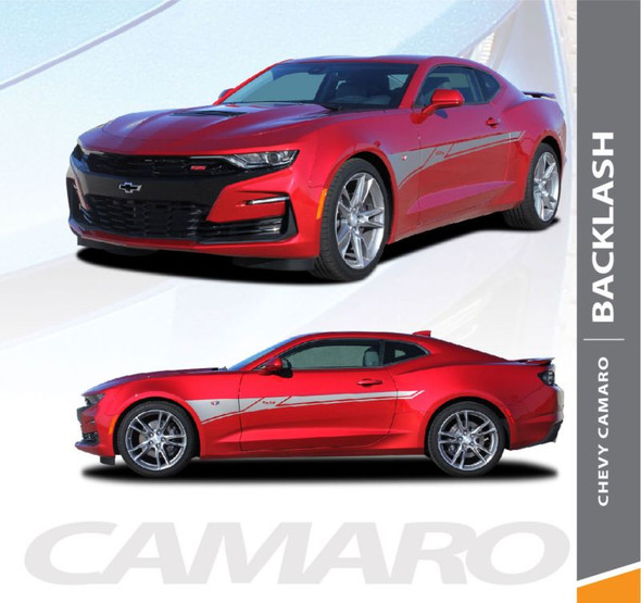 2019 2020 Chevy Camaro Side Body Stripes BACKLASH Decals Vinyl Graphics Kit