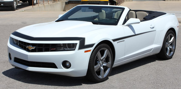 Front Chevy Camaro Front Hood and Door Stripes 3M VINTAGE 2009-2013