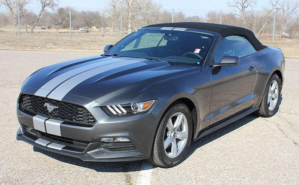 7 Inch Racing Stripes for Ford Mustang STALLION SLIM 2015-2017