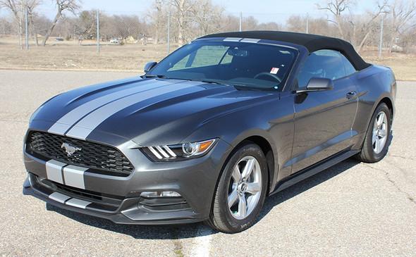 Ford Mustang Dual Racing Stripes STALLION SLIM 2015 2016 2017