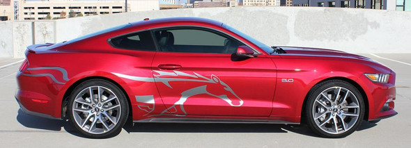 Ford Mustang Side Horse Decals 3M STEED 2015 2016 2017 2018
