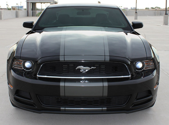 BEST! 2013-2014 Ford Mustang Center Wide Stripes VENOM KIT