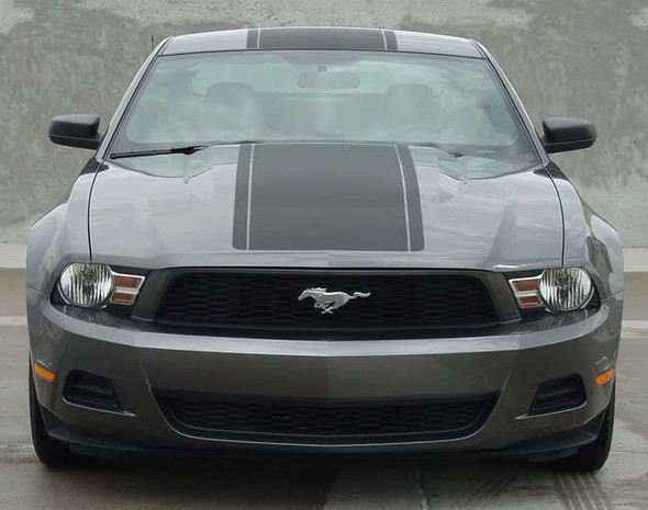 2012 Ford Mustang GT Racing Stripes 3M PONY CENTER 2010 2011