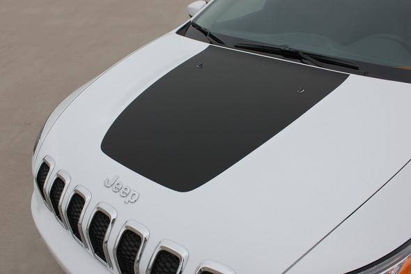2017 Jeep Cherokee Hood Decal 3M T-HAWK HOOD 2014 2015 2016