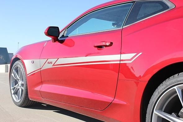 2019 Chevy Camaro Side Door Stripes BACKLASH 2019-2020