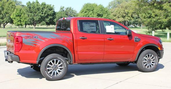 2020 2021 Ford Ranger Bed Side Stripes GUARDIAN 2019-2020 2021
