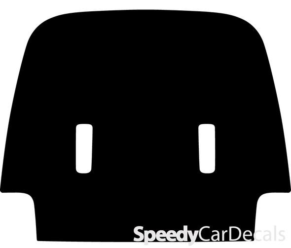 2020 Jeep Gladiator Hood Stripes WRANGLER SPORT HOOD Solid
