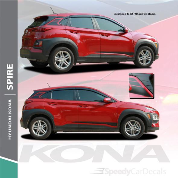 Hyundai Kona Stripes SPIRE KIT 2020-2021