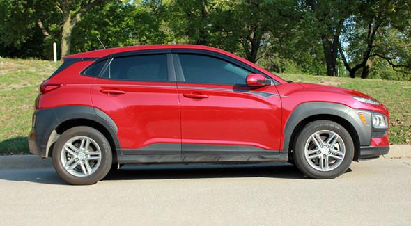 Side of digital  2020-2021 Hyundai Kona Side Decals BOLT KIT