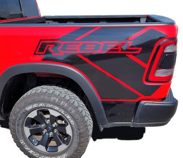 2021 Ram 1500 Rebel Stripes REB SIDE 2019 2020 2021 2022