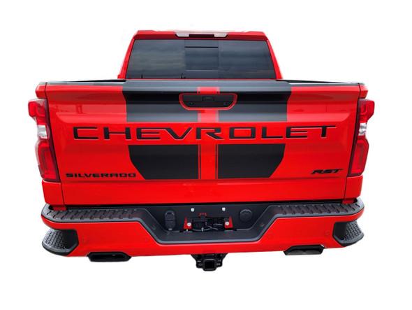 2019 2020 2021 2022 Chevy Silverado Racing Stripes BOW RALLY