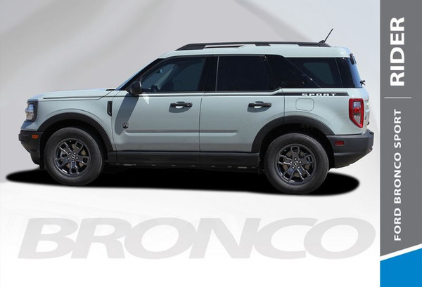 2021 Ford Bronco Side Stripes RIDER 3M Premium Auto Striping