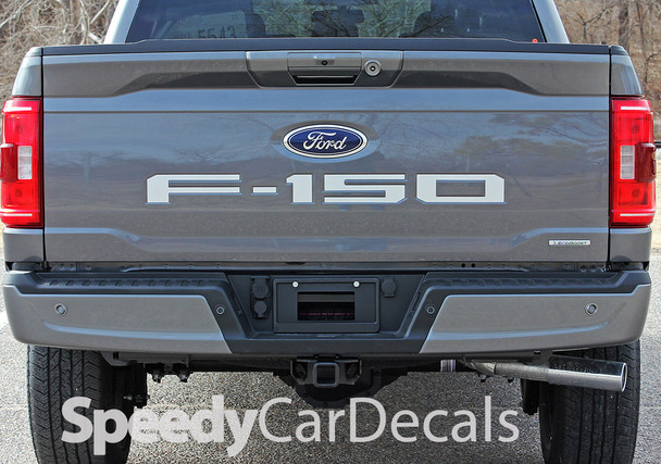 2021 Ford F150 Rear Tailgate Text Decals Letter Stripes Premium Auto Striping
