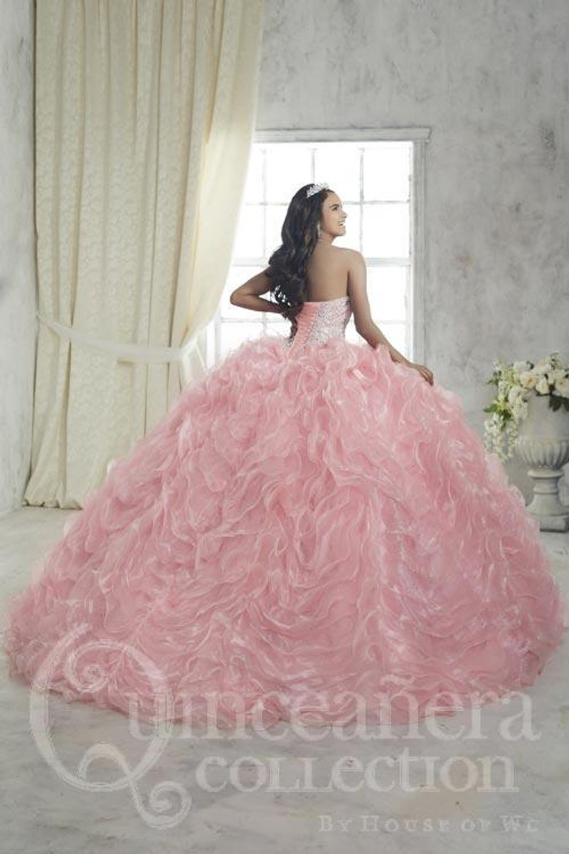 White Quinceanera Dress.