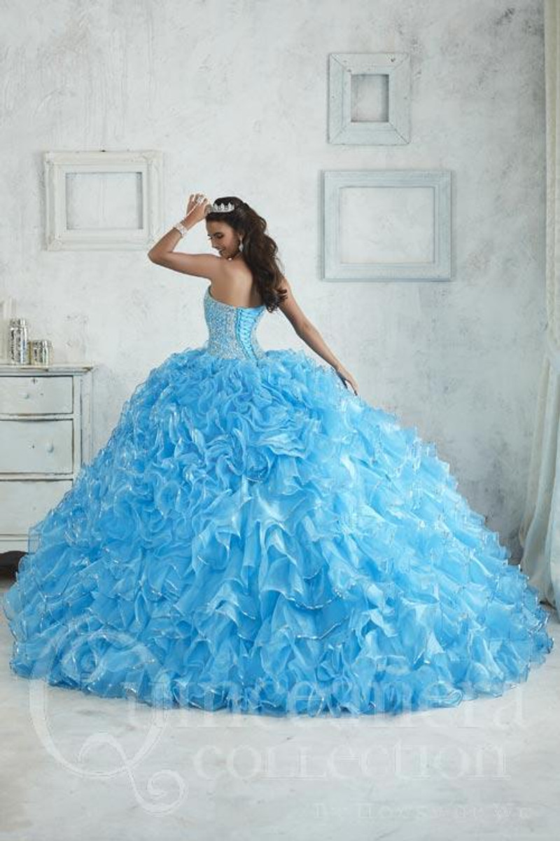 Cherry Quinceanera Dress.